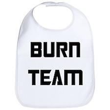 Funny Burn nurse Bib