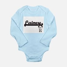 Lainey Classic Retro Name Design with Pa Body Suit