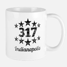 Vintage 317 Indianapolis Mugs