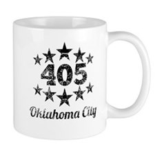 Vintage 405 Oklahoma City Mugs