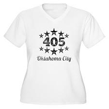 Vintage 405 Oklahoma City Plus Size T-Shirt