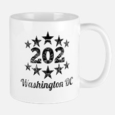 Vintage 202 Washington DC Mugs