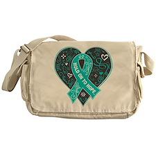 Agoraphobia Hold on to Hope Messenger Bag
