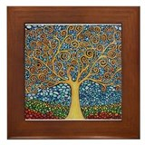 Tree of life Framed Tiles