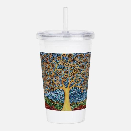 My Tree of Life Acrylic Double-wall Tumbler