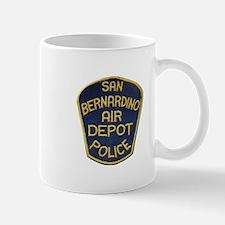 San Bernardino Air Depot Police Mugs
