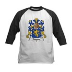 Desprez Family Crest Kids Baseball Jersey