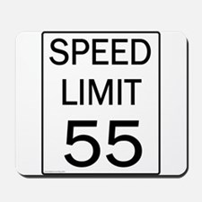 Speed Limit-55JPG.jpg Mousepad