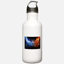 Fire and Ice Water Bottle