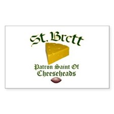 St. Brett Rectangle Decal