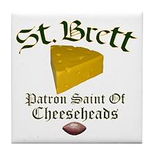 St. Brett Tile Coaster