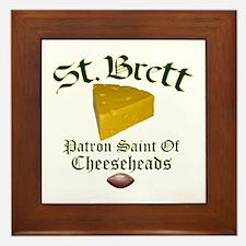 St. Brett Framed Tile