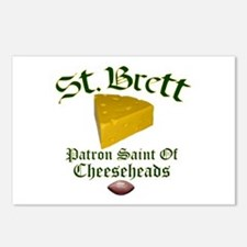 St. Brett Postcards (Package of 8)