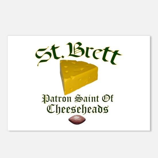 St. Brett Postcards (Package of 8)
