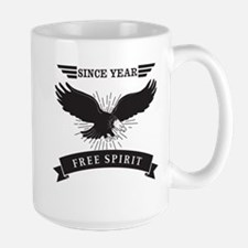 Personalized Birthday Eagle Spirit Mug