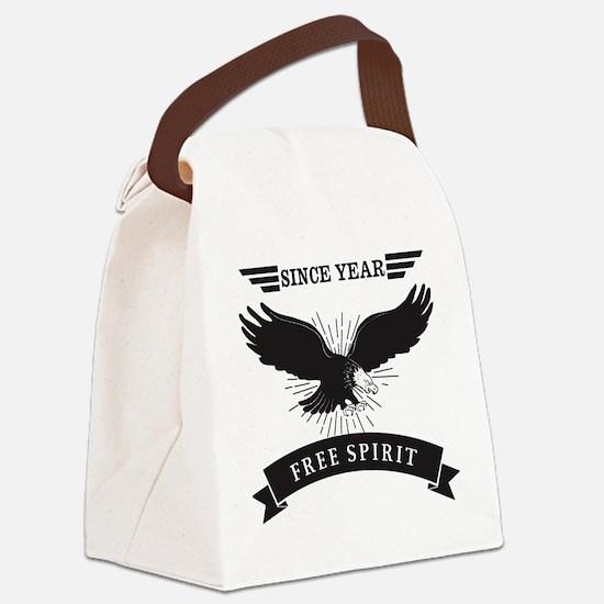 Personalized Birthday Eagle Spiri Canvas Lunch Bag
