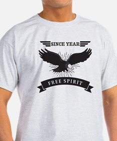 Personalized Birthday Eagle Spirit T-Shirt