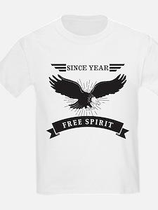 Personalized Birthday Eagle Spi T-Shirt