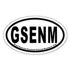 Gsenm Oval Decal