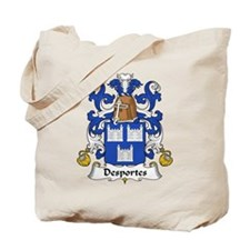 Desportes Family Crest Tote Bag