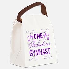One Fabulous Gymnast Canvas Lunch Bag