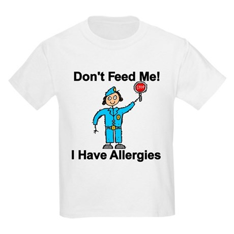 Don't Feed Me Kids Light T-Shirt