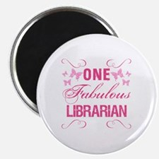 One Fabulous Librarian Magnet