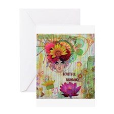 Beautiful Abundance Greeting Cards