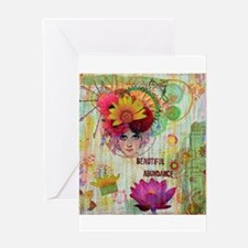 Beautiful Abundance Greeting Cards