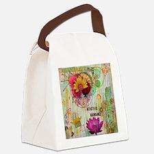 Beautiful Abundance Canvas Lunch Bag