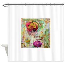 Beautiful Abundance Shower Curtain