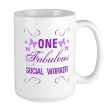 One Fabulous Social Worker Mug