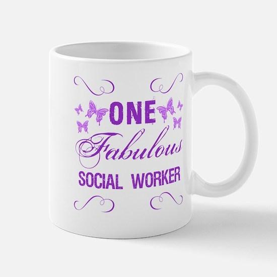 One Fabulous Social Worker Mug