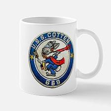USS COTTEN Mug
