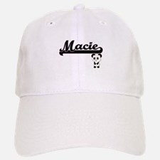 Macie Classic Retro Name Design with Panda Baseball Baseball Cap
