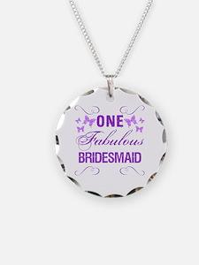 One Fabulous Bridesmaid Necklace