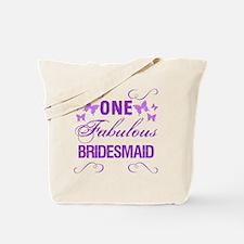 One Fabulous Bridesmaid Tote Bag