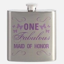 One Fabulous Maid Of Honor Flask