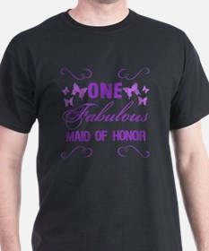 One Fabulous Maid Of Honor T-Shirt