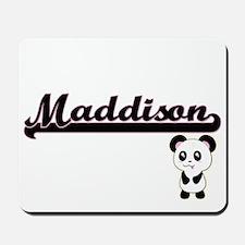 Maddison Classic Retro Name Design with Mousepad