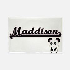 Maddison Classic Retro Name Design with Pa Magnets