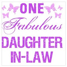 One Fabulous Daughter-In-Law Poster