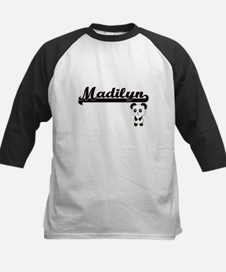 Madilyn Classic Retro Name Design Baseball Jersey