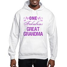 One Fabulous Great Grandma Hoodie