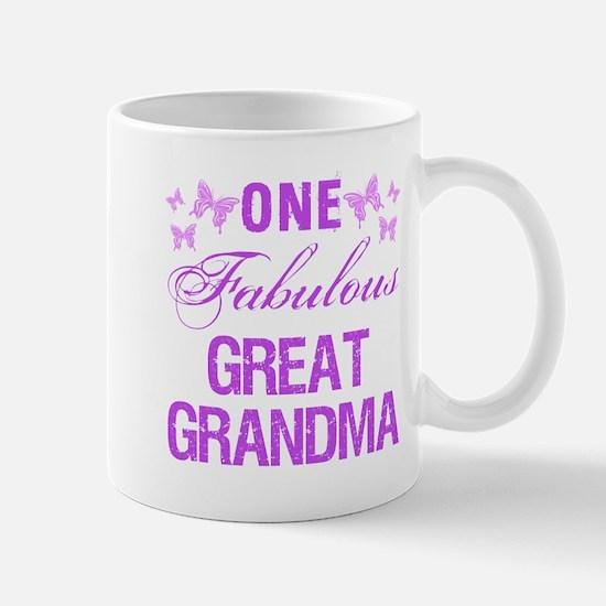 One Fabulous Great Grandma Mugs