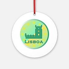 Lisboa Ornament (Round)