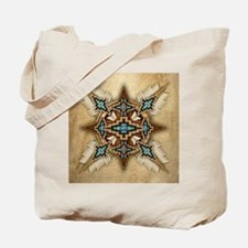 Native American Style Mandala 26 Tote Bag