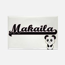 Makaila Classic Retro Name Design with Pan Magnets