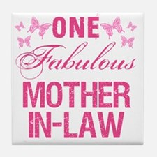 One Fabulous Mother-In-Law Tile Coaster