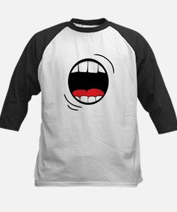 Halloween Monster Mouth Baseball Jersey